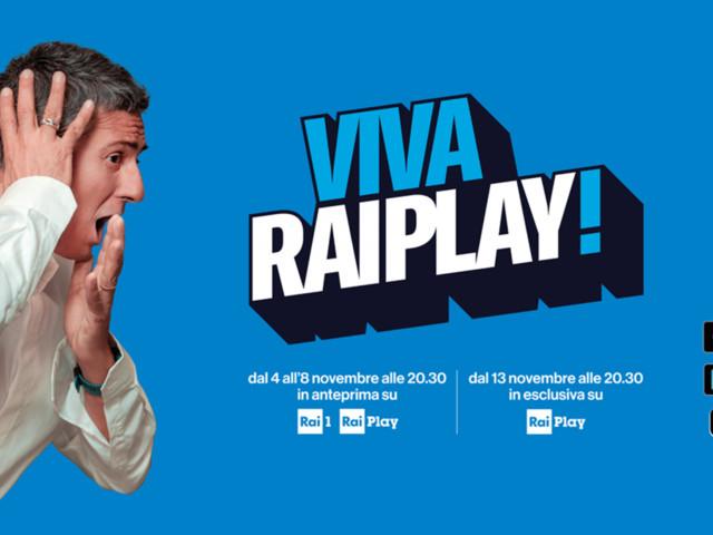 I contenuti inediti in arrivo sulla nuova Raiplay nel 2019/2020, da Fiorello alle serie tv in esclusiva