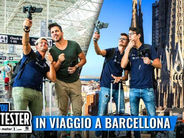YouTester 2019, preparate i passaporti, si vola a Barcellona!