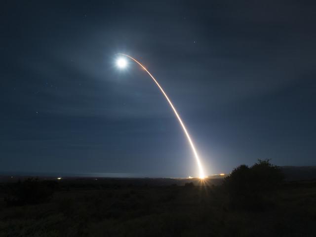 Stati Uniti, primo lancio missilistico per la Space Force