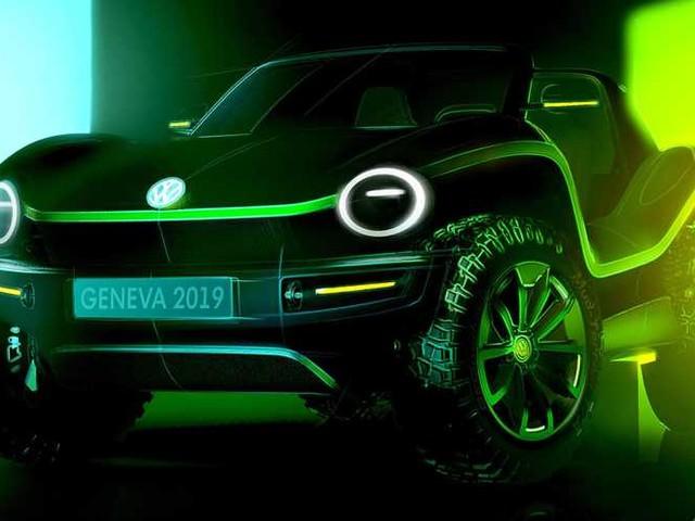 Volkswagen dune buggy, il concept elettrico è a Ginevra
