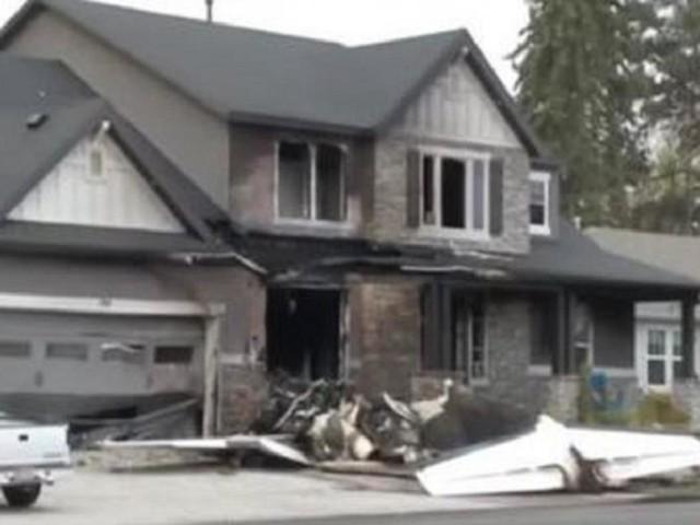 USA: per uccidere la moglie si schianta con un aereo contro la sua casa, ma muore solo lui