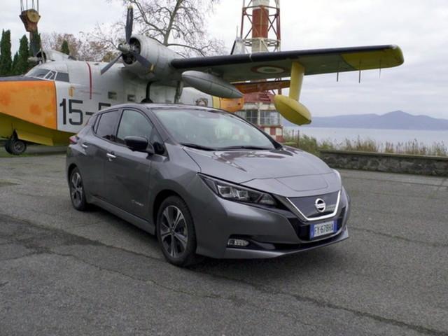 Nissan Leaf e+, l'auto elettrica con le batterie ultra