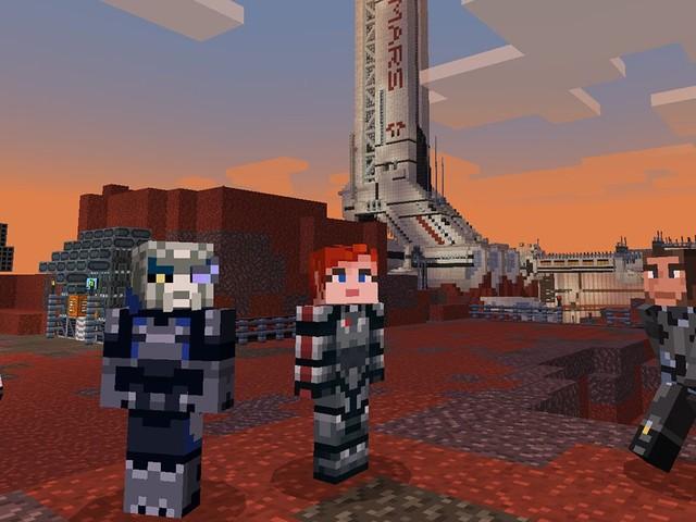 Mass Effect arriva su Minecraft: ecco i contenuti del pacchetto