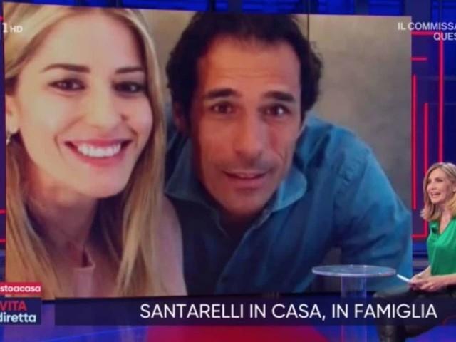 Elena Santarelli serena a casa tra ballo e tiramisù per Bernardo Corradi