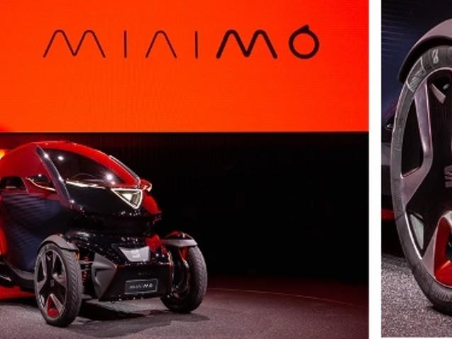 Bridgestone equipaggia la concept car elettrica SEAT Minimó