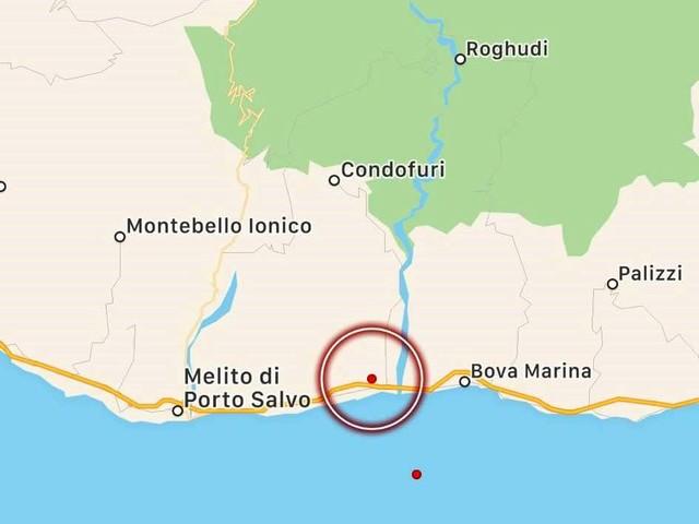 Reggio Calabria, scossa di terremoto sulla costa jonica: epicentro a Condofuri