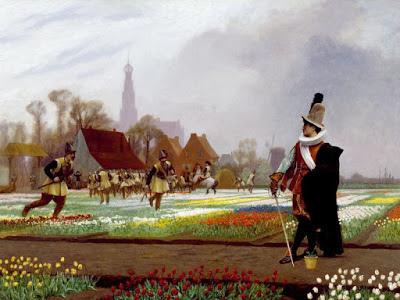 Non c'è mai stata una vera e propria mania per i tulipani