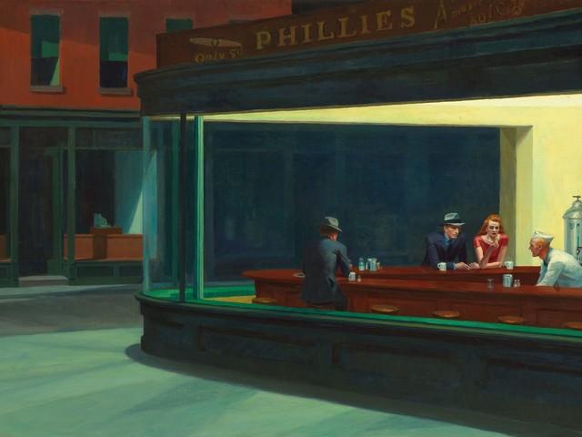 Un video-saggio racconta Nighthawks, l'opera più famosa di Edward Hopper