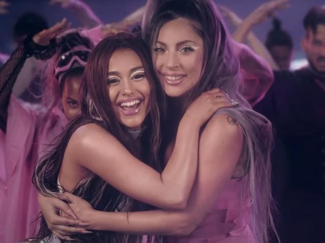 Lady Gaga e Ariana Grande: guarda il video musicale di Rain On Me