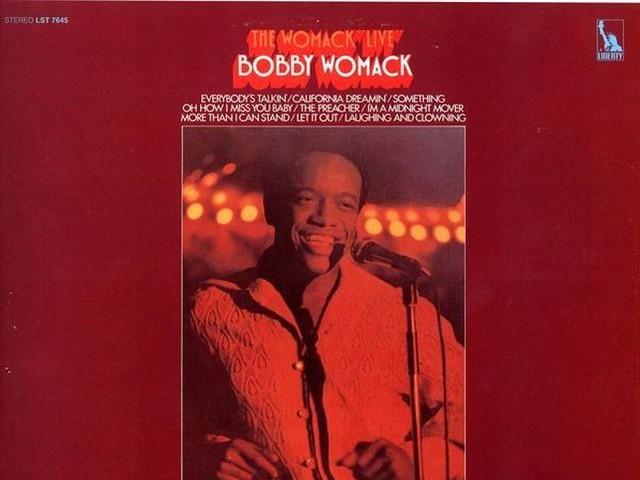 Bobby Womack, un gigante della musica nera