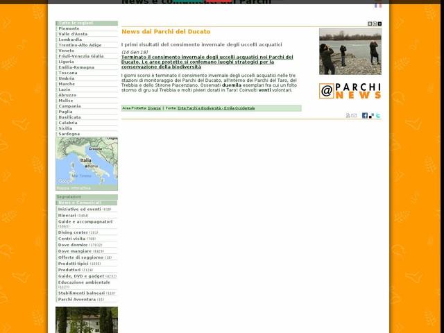 Ente Parchi e Biodiversità - Emilia Occidentale - News dai Parchi del Ducato