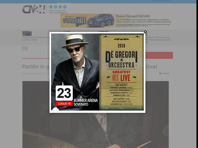 Partito in grande stile il XVIII Peperoncino Jazz Festival