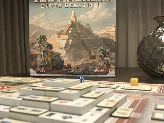 [Solo sul mio tavolo] Teotihuacan: la Città degli Dei