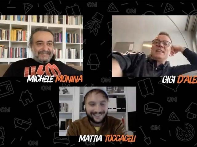 """A #iorestoacasa Monina l'appello di Gigi D'Alessio: """"Invece di stare a giudicare e a rompere i cogli*ni, facciamo qualcosa"""""""