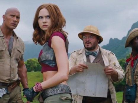 Jumanji: Welcome to the Jungle, «la leggenda continua» con l'anteprima del trailer