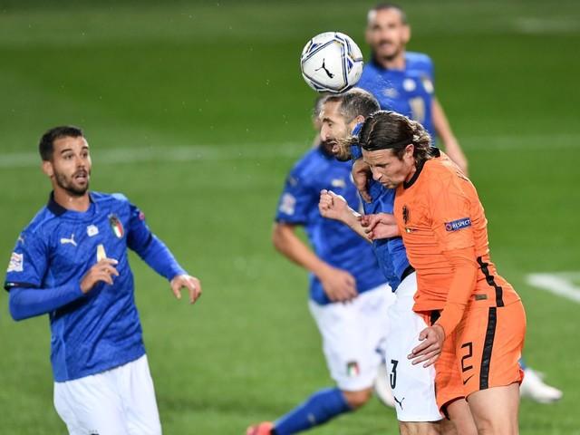 Nations League, l'Italia pareggia 1-1 contro l'Olanda a Bergamo