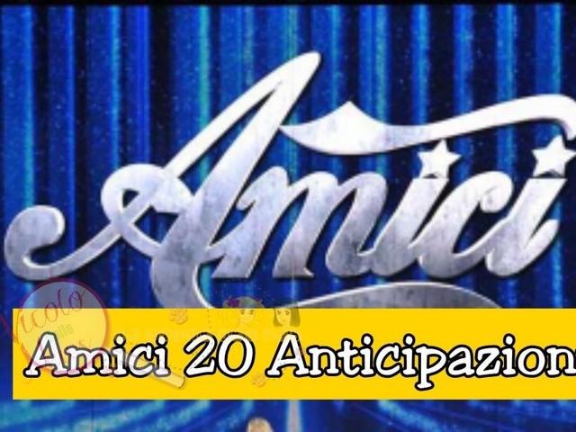 Anticipazioni Amici 20 di sabato 16/01/20: lunedì in onda due sfide e i loro esiti