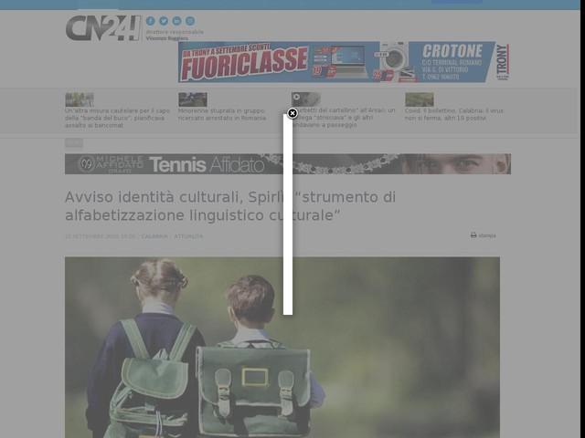"""Avviso identità culturali, Spirlì: """"strumento di alfabetizzazione linguistico culturale"""""""
