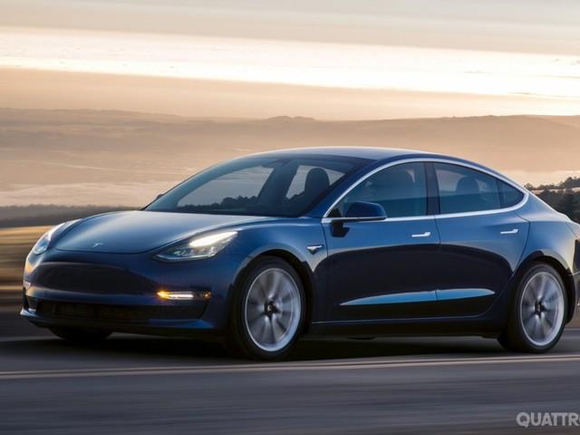 Tesla Model 3 - Aumenta la produzione della compatta elettrica