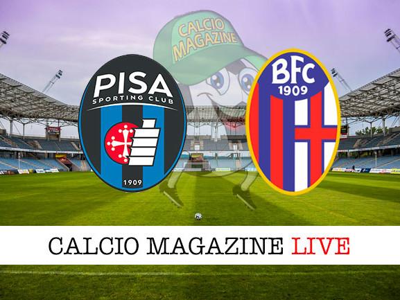 Pisa – Bologna: cronaca diretta live, risultato in tempo reale