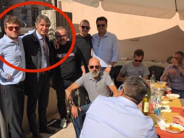 Lega e fascisti, unioni di fatto a Verona: ecco le foto che lo dimostrano