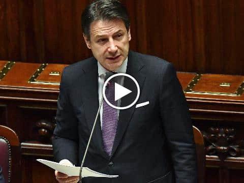 """Mes, Conte: """"Chi vuole Italia fuori dall'Europa lo dica"""""""