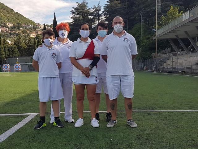 Tiro con l'arco: ottimi risultati nel fine settimana a Genova per gli atleti dell'Archery Club Ventimiglia