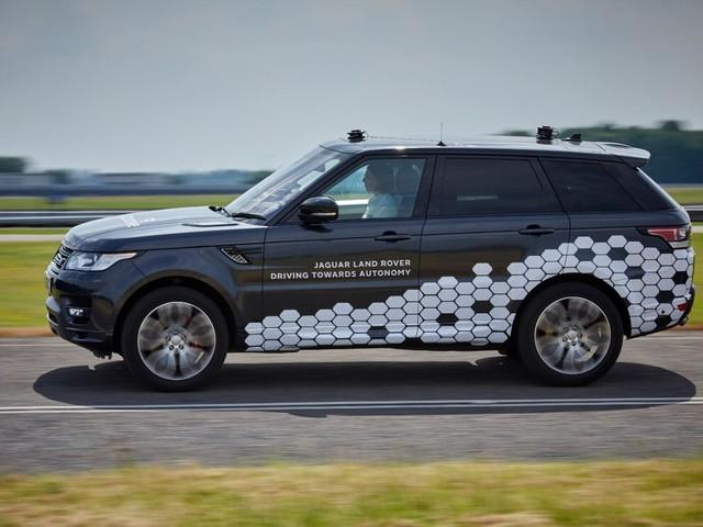 Range Rover Sport - Il prototipo Autonomous Urban Drive