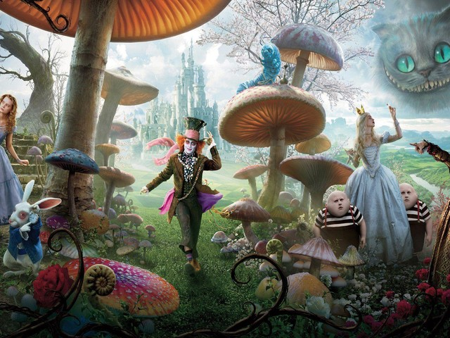 "Stasera in tv: ""Alice in Wonderland"" su Italia 1"