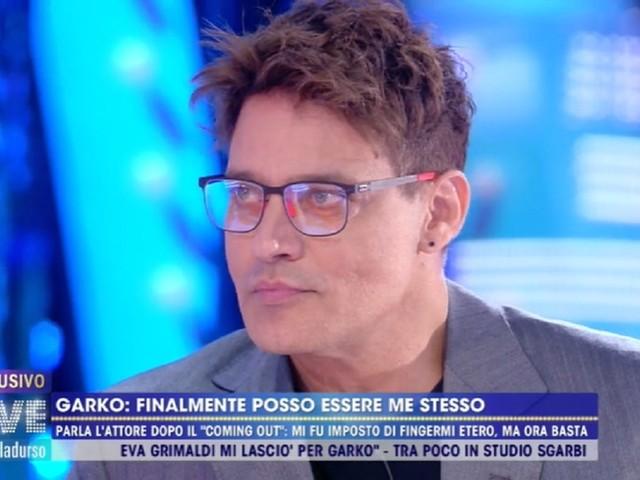 """""""Da domani non mi vedrete più in tv"""". E così Gabriel Garko esce di scena dopo il suo coming out"""