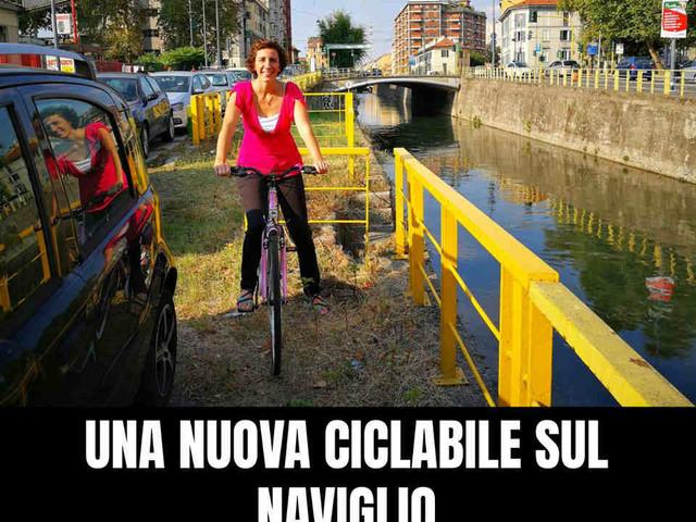 Una nuova pista ciclabile a Milano grazie al MoVimento 5 Stelle