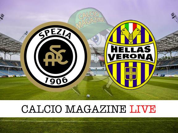 Spezia – Verona: cronaca diretta live, risultato in tempo reale