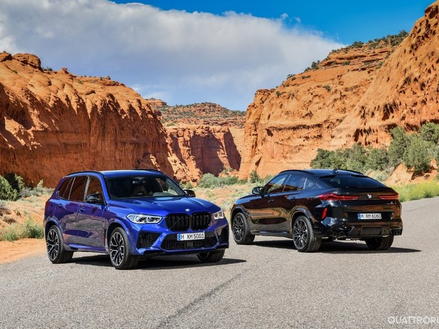 BMW X5 M e X6 M - Ora arrivano a 625 CV e 290 km/h