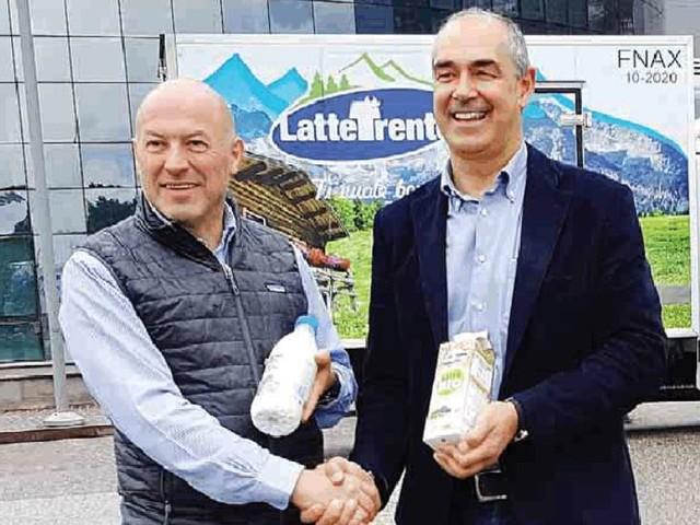 Latte fresco ogni giorno, riparte la consegna ai 360 negozi delle Famiglie cooperative