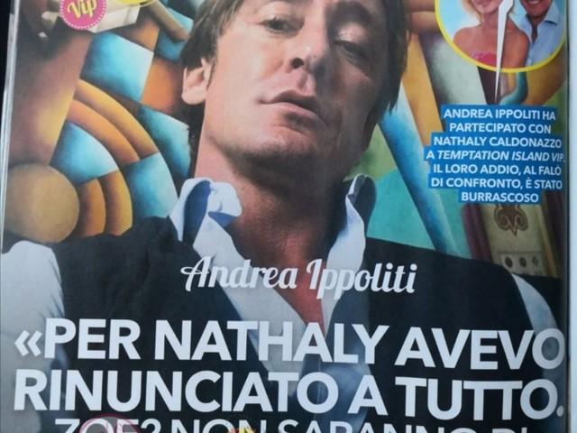 'Temptation Island Vip': Intervista ad Andrea Ippoliti: ha tradito la ex moglie con Nathaly Caldonazzo? Cosa pensa realmente oggi di lei?