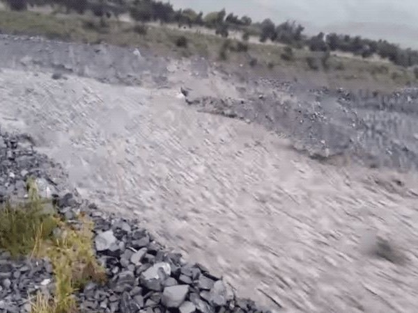 Cyclone Remnant Spawns Horrifying River of Rock in New Zealand