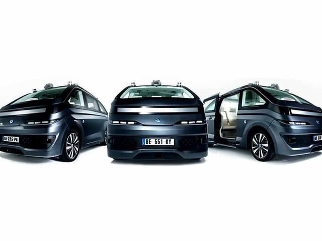 Navya - Il primo taxi autonomo elettrico testato a Parigi