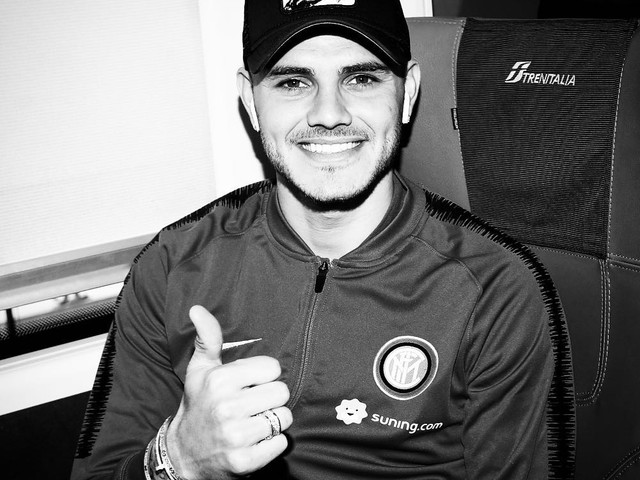 Inter, Icardi e i suoi post solo in bianconero. L'ex capitano si esprime già da juventino?