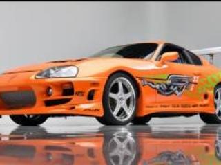 All'asta la Toyota Supra guidata da Paul Walker in Fast & Furious
