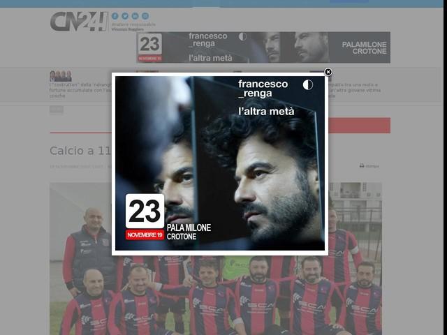 Calcio a 11. Vigor Old Boys trionfano a Girifalco