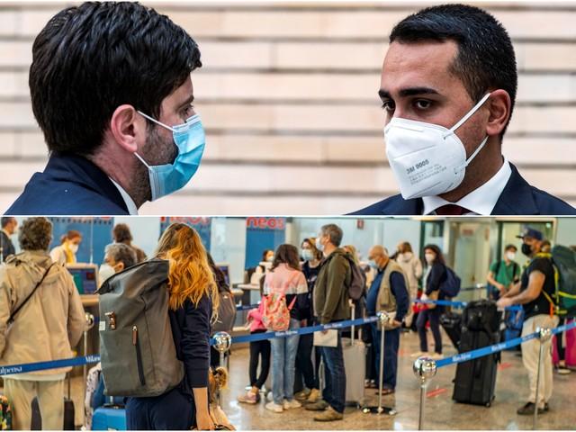 Covid, Di Maio-Speranza: dal 15 maggio via quarantena da Paesi Ue, Uk e Israele