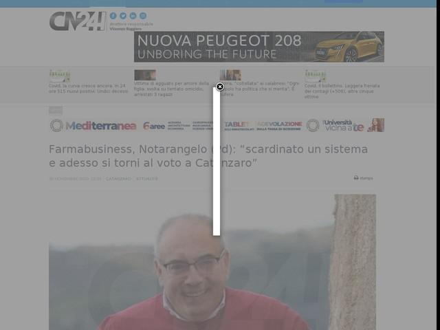 """Farmabusiness, Notarangelo (Pd): """"scardinato un sistema e adesso si torni al voto a Catanzaro"""""""