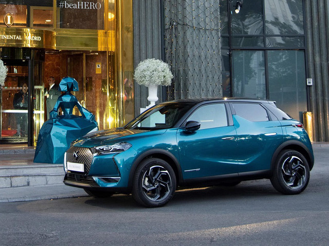 DS3 Crossback ispira l'arte contemporanea