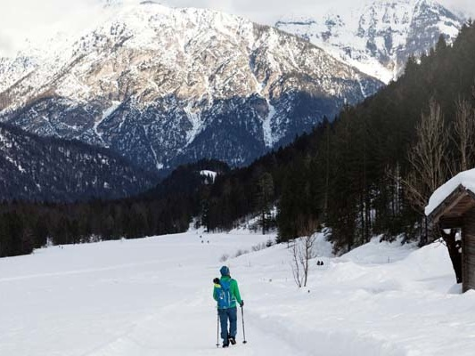 I posti dove camminare sulla neve in Tirolo