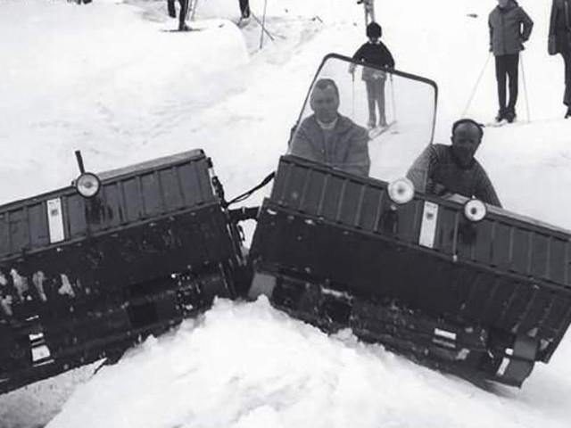 Quando Ernst Prinoth inventò il gatto delle nevi