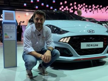 Nuova Hyundai i10 in video dal Salone di Francoforte 2019