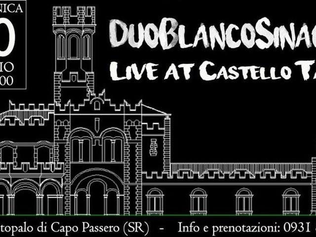 Chi va con lo Zoppo... non perde Duo Blanco Sinacori in concerto a Portopalo di Capo Passero!