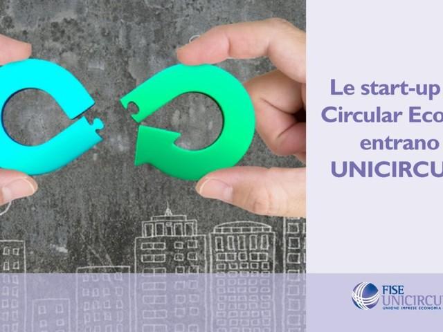 Unicircular, un nuovo settore per riunire le start-up più innovative dell'economia circolare