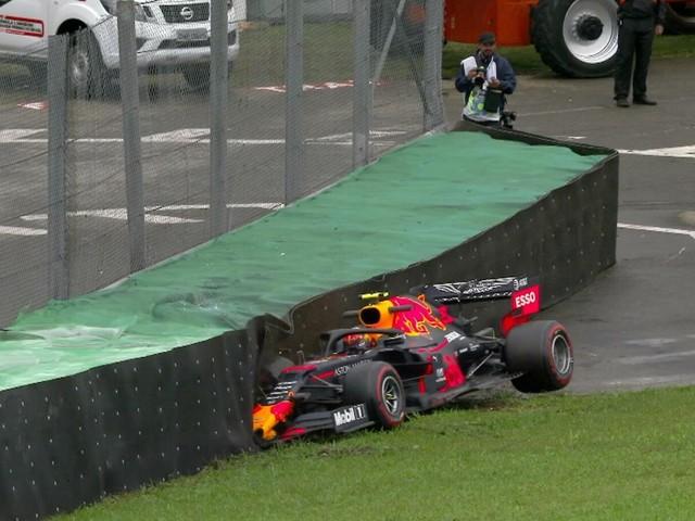 """F.1, GP Brasile - Inizio """"col botto"""" per la Red Bull"""