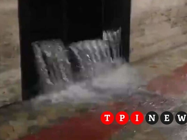 Nubifragio a Roma, chiuse le stazioni metro Repubblica e Manzoni per danni. Cascate d'acqua a Termini